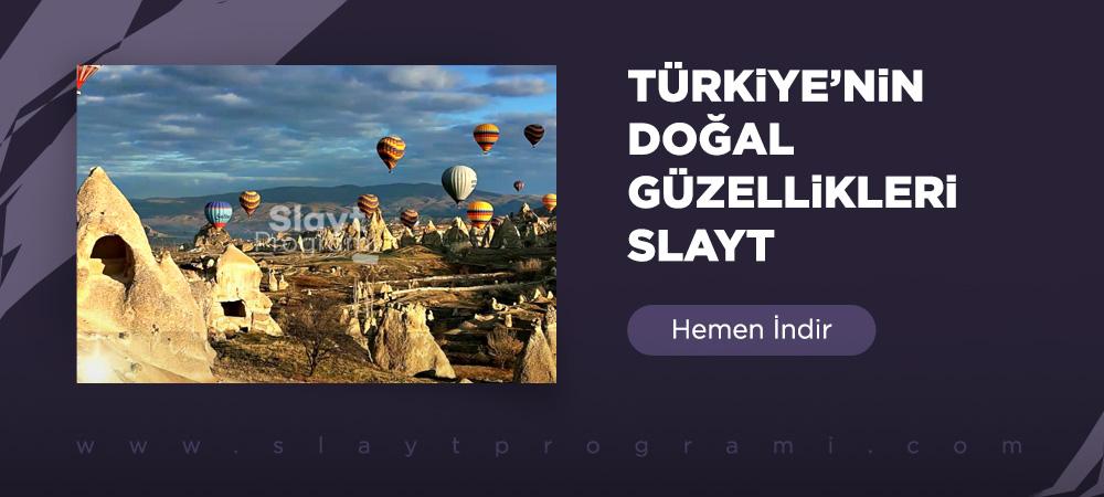 turkiyenin dogal guzellikleri slaytprogrami com