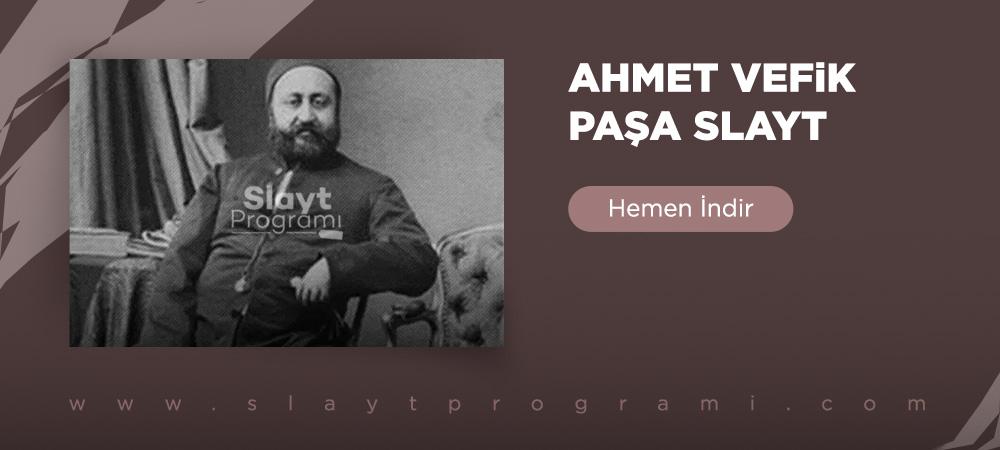 ahmet vefik pasa slayt slaytprogrami com