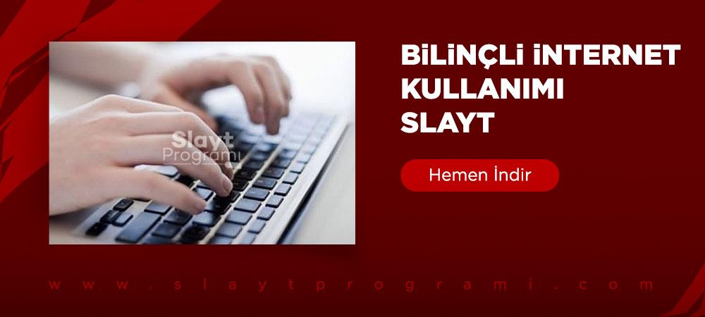 bilincli internet kullanimi slayt slaytprogrami com