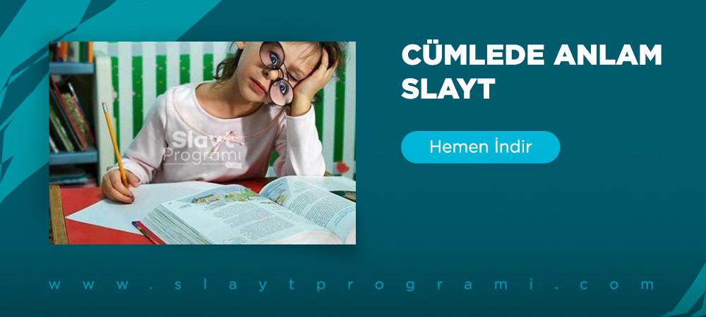 cumlede anlam slayt slaytprogrami com