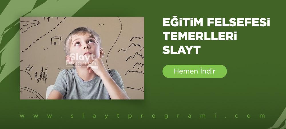 egitim felsefesi temelleri slayt slaytprogrami com