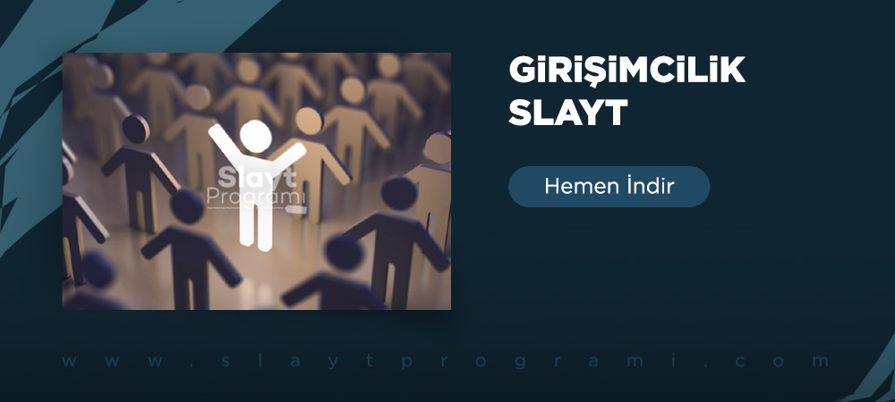 girisimcilik slayt slaytprogrami com