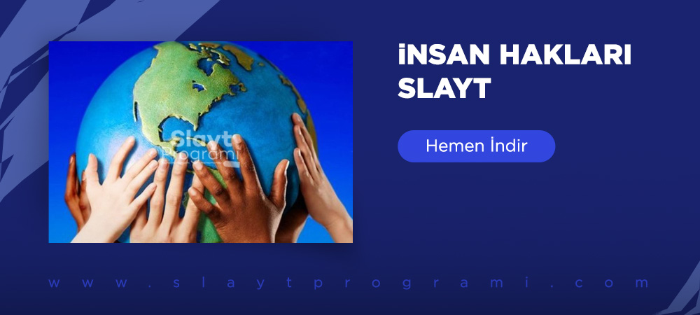 insan haklari slayt indir slaytprogrami com
