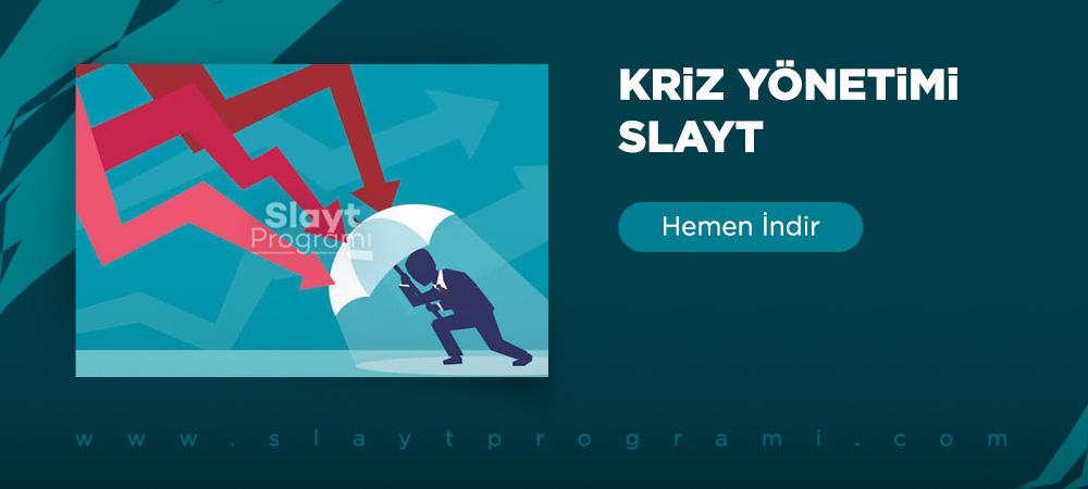 kriz yonetimi slayt slaytprogrami com