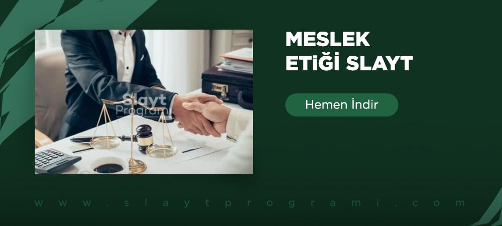 meslek etigi slayt slaytprogrami com