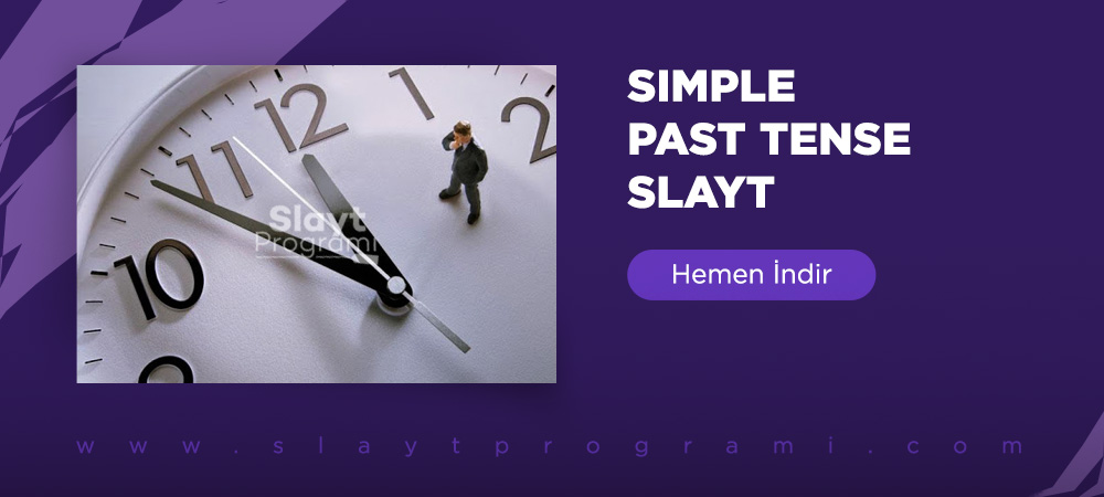 simple past tense slayt indir slaytprogrami com