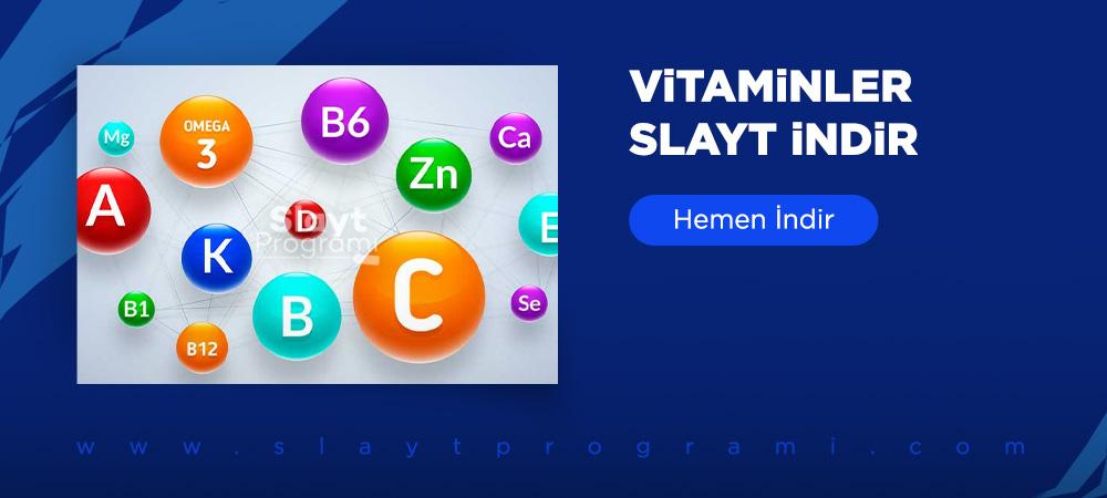 vitaminler slayt indir slaytprogrami com