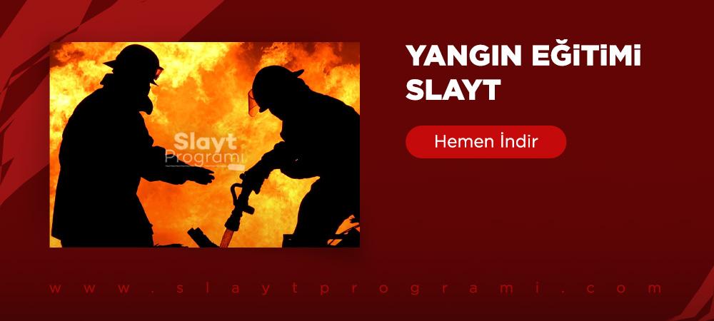 yangin egitimi slayt slaytprogrami com